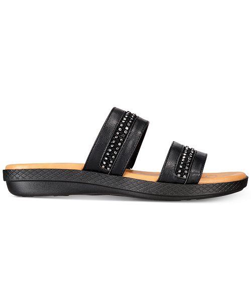 029642d6ea57 Easy Street Dionne Slide Sandals   Reviews - Ladies Shoes - SLP - Macy s