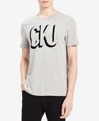 Calvin Klein Jeans Men's Shadow Logo-Print T-Shirt