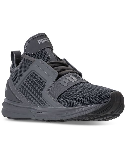 ... Puma Men s Ignite Limitless Knit Casual Sneakers from Finish Line ... 47ad831fd