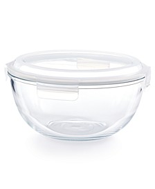 4.2-Qt. Glass Bowl & Lid, Created for Macy's