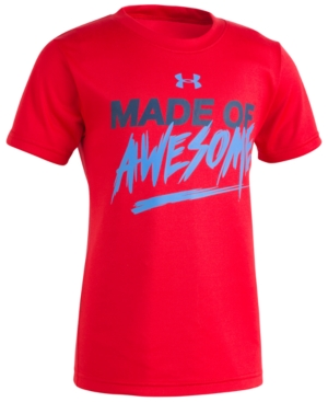 Under Armour AwesomePrint Cotton TShirt Toddler Boys (2T5T)