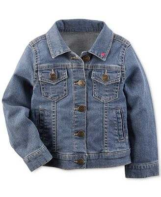 Carter's Denim Jacket, Toddler Girls