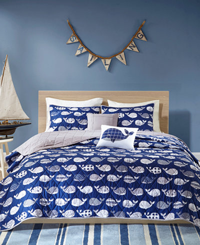 Urban Habitat Kids Moby 5-Pc. Full/Queen Coverlet Set