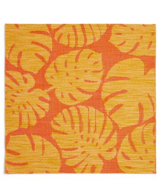 Tropical Leaf Warm Woven PVC Placemat