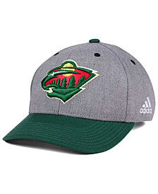 adidas Minnesota Wild 2Tone Adjustable Cap