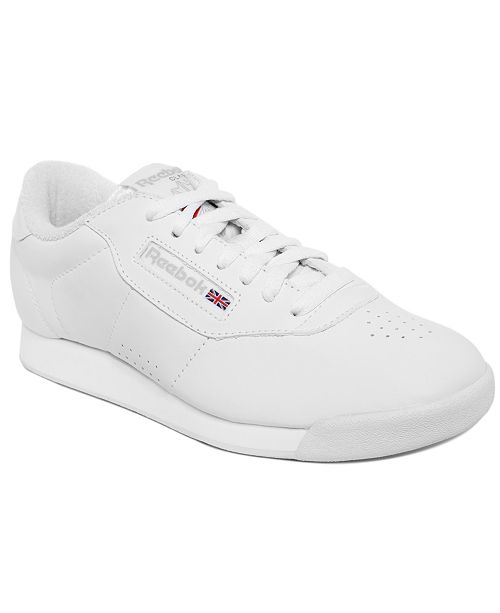 317e7506bba ... Reebok Women rsquo s Princess Wide Width Casual Sneakers from Finish ...