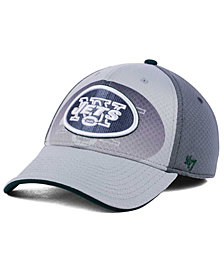 '47 Brand New York Jets Greyscale Contender Flex Cap