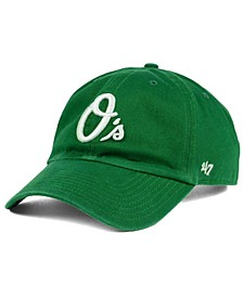 Baltimore Orioles Kelly White CLEAN UP Cap