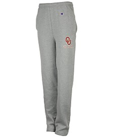 Champion Men's Oklahoma Sooners Powerblend Open Bottom Sweatpants