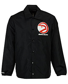 Mitchell & Ness Men's Atlanta Hawks Coaches Jacket