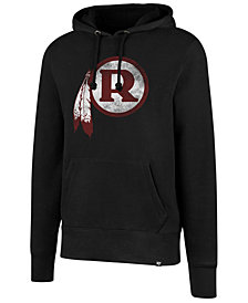 '47 Brand Men's Washington Redskins Retro Knockaround Hoodie