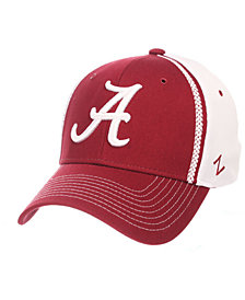 Zephyr Alabama Crimson Tide Pattern Pipe Stretch Cap