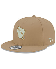 New Era Milwaukee Bucks Fall Dubs 9FIFTY Snapback Cap