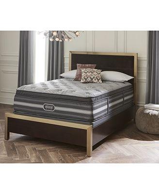 Beautyrest Neale 18 5 Ultra Plush Pillow Top Mattress Collection