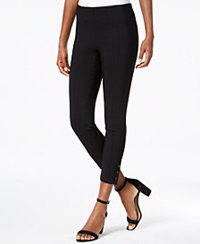 Style & Co Snap-Hem Ultra-Skinny Capri Pants, Created for Macy's