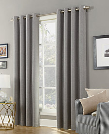 "Sun Zero Baxter 52"" x 84"" Theater Grade Extreme Blackout Grommet Curtain Panel"