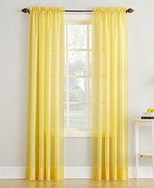 Crushed Sheer Voile Curtain Collection