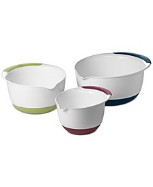 Good Grips 3-Pc. Mixing Bowl Set