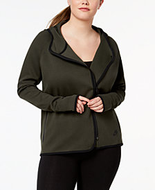 Nike Plus Size Sportswear Tech Fleece Cape