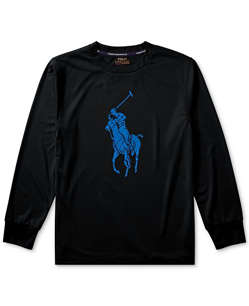 2cf5f0cee1d3 Polo Ralph Lauren Big Boys Big Pony Long-Sleeve T-Shirt   Reviews ...
