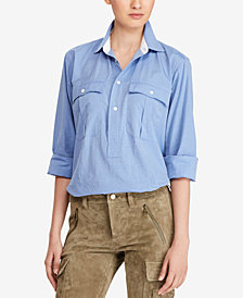Polo Ralph Lauren Straight-Fit Cotton Shirt