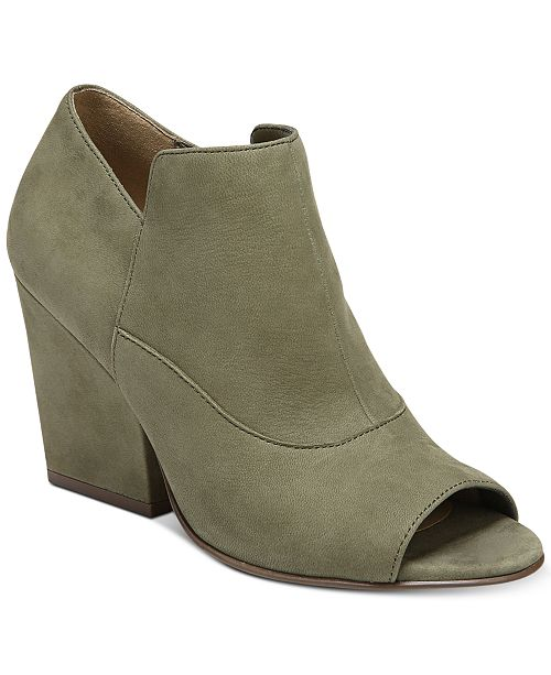 e3854c29469f Naturalizer Skylar Peep-Toe Booties   Reviews - Boots - Shoes - Macy s