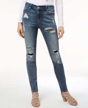 I.n.c. Rip-And-Repair Skinny Jeans, Created for Macy's 5399036
