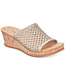 Baretraps Flossey Slip-On Wedge Sandals