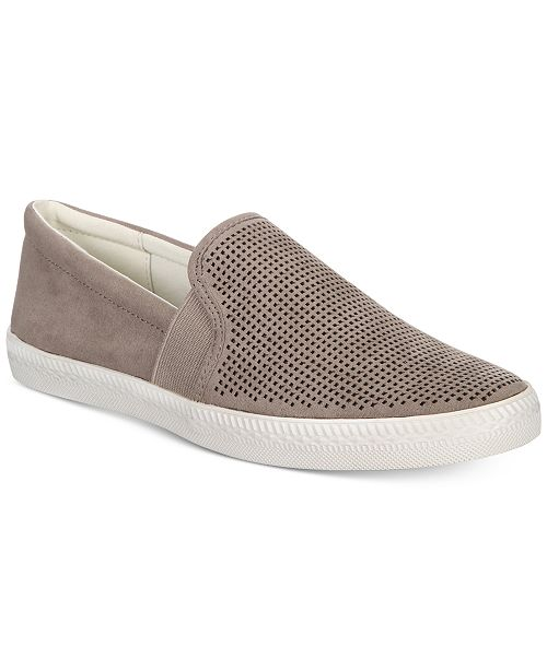 Louiza Perforated Slip-On Sneakers, Created for Macy's