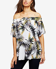 RIPE Maternity Off-the-Shoulder Top