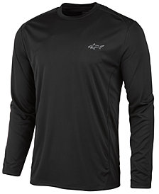 Greg Norman for Tasso Elba Men's Long-Sleeve Tech T-Shirt, Created for Macy's