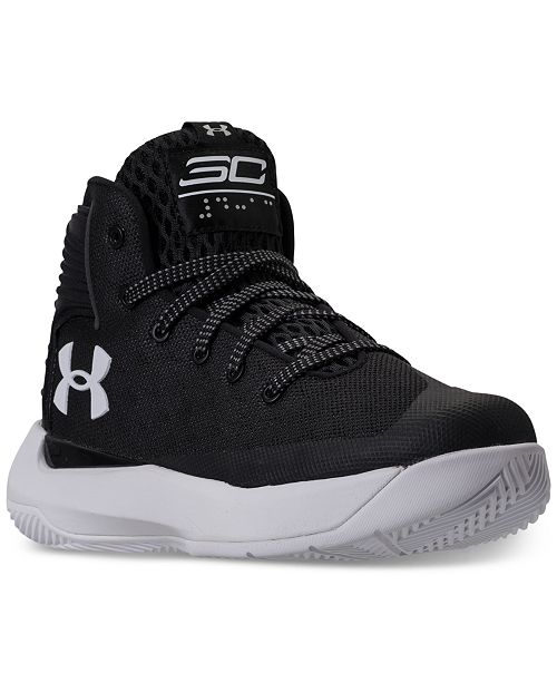 822c839053e3 ... Under Armour Big Boys  Curry 3Zero Basketball Sneakers from Finish Line  ...