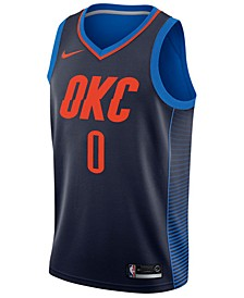 Men's Russell Westbrook Oklahoma City Thunder Statement Swingman Jersey