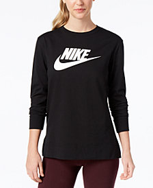 Nike Sportswear Long-Sleeve Logo T-Shirt