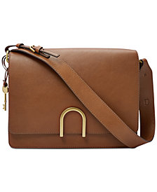 Fossil Finley Leather Shoulder Bag