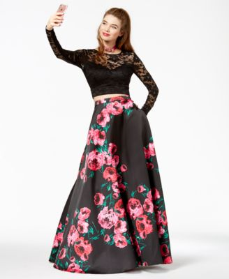 Black dresses for juniors formal skirts