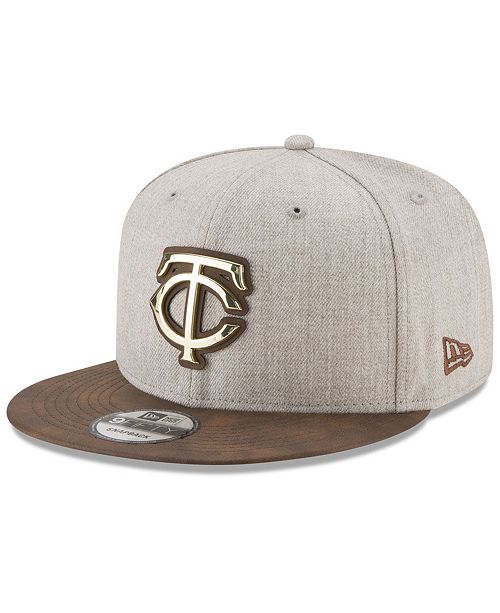 New Era. Minnesota Twins Oatmeal O Gold 9FIFTY Snapback Cap. Be the first  to Write a Review. main image ... f9aa494502af