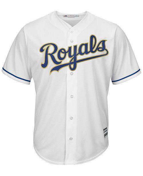majestic men s kansas city royals blank replica cool base jersey