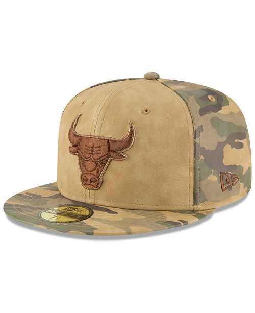 the latest a3a31 1e829 ... New Era Chicago Bulls Butter So Camo 59FIFTY Fitted Cap ...