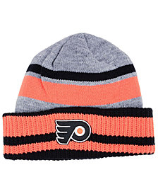 adidas Philadelphia Flyers Heathered Grey Beanie