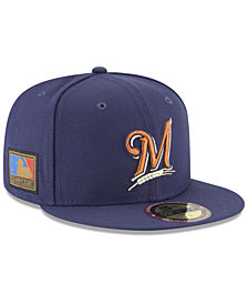 New Era Milwaukee Brewers Ultimate Patch Collection 125th Anniversary 59FIFTY Fitted Cap