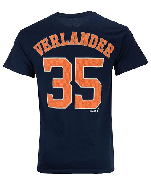 94f71716b ... Majestic Men s Justin Verlander Houston Astros Official Player T-Shirt  ...
