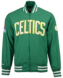 Mitchell & Ness Men's Boston Celtics Team History Warm Up Jacket