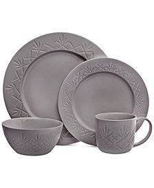 Godinger Dublin Gray 4-Pc. Place Setting