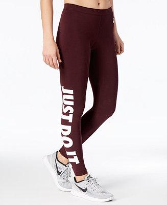 a39d5dd211f Nike Leg-A-See High-Waist Leggings & Reviews - Pants & Capris - Women -  Macy's