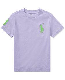 Ralph Lauren Cotton T-Shirt, Little Boys