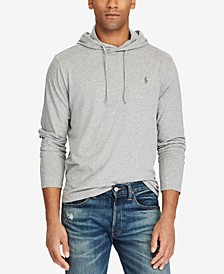 Men's Jersey T-Shirt Hoodie, Regular and Big & Tall