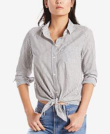 Levi's® Liza Cotton Tie-Front Shirt
