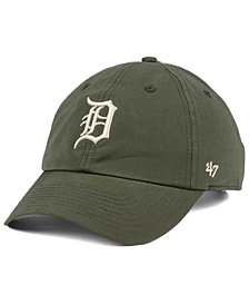 '47 Brand Detroit Tigers Harvest CLEAN UP Cap