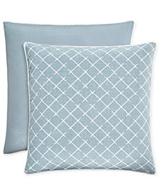 Piper & Wright Ansonia Indigo European Sham